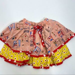 Jelly The Pug Layered Skirt